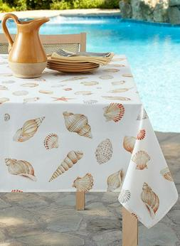Benson Mills Seaside Coastal Tablecloth 52'' X 70'' Beach In