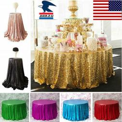 Sequin Table Runners 120cm Long Table Cloth Party Wedding Ev