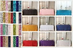 Sequin Tablecloth for Party Decor and can be used for Overla