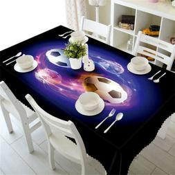 Soul Of Football 3D Tablecloth Table cover Cloth Rectangle W