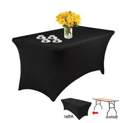 Spandex Lycra Stretch Cover Tablecloth For 6FT/4FT foot tabl