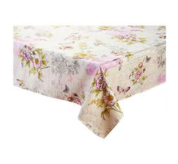 Spring Square Tablecloth 52 x 52 Vintage Blossom French Sent