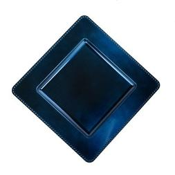 "13"" Square Charger Plate  Color: Royal Blue"