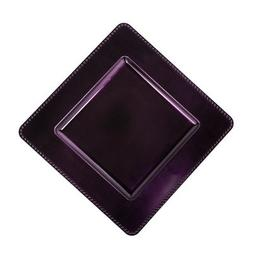 "13"" Square Charger Plate  Color: Eggplant"