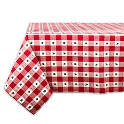 DII Square Cotton Tablecloth for Independence Day, July 4th