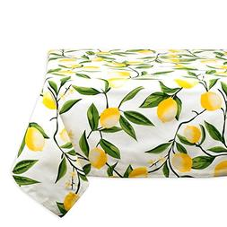 DII Square Cotton Tablecloth for Autumn, Catering Events, Di