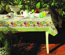 Square or rectangle Decorative Printed Fabric Tablecloth wat