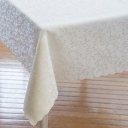 Turkish Tablecloth Polyester Table Linen - Stain Resistant W