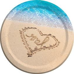 Creative Converting 8-Count Sturdy Style Beach Wedding Paper