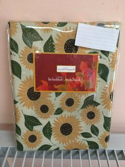 Sunflowers Summer Spring Tablecloth New Various Sizes 100% p