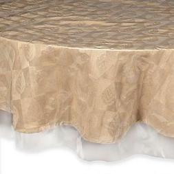 """Super Clear Table Cloth Cover Protects Fabrics 70"""" Round Hea"""