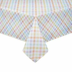 Sweet Gingham Rectangle Tablecloth 60 x 102 Easter Spring Ki