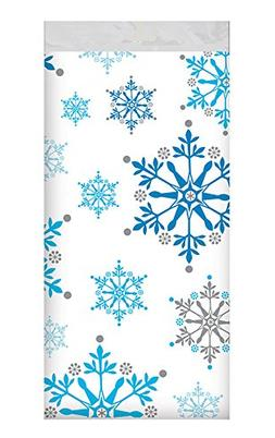 """12 Pack 54"""" X 108"""" Table Cover Premium Plastic Tablecloth fo"""