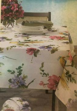 "Tablecloth  Valentina  60"" x 84""   Oblong Spillproof Indoor/"