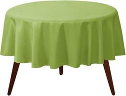 "Gee Di Moda Tablecloth - 70"" Inch Round 70 Round, Apple Gree"