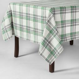 Plaid Tablecloth Green - Threshold