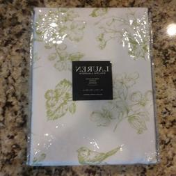 Ralph Lauren Tablecloth OBLONG RECTANGLE 60X120 White Lime G