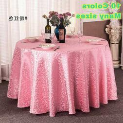 Tablecloths For Wedding Party Round,Square, Rectangle Banque