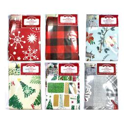 Holiday Time Tablecloths Print Vinyl SELECT STYLE/COLOR New