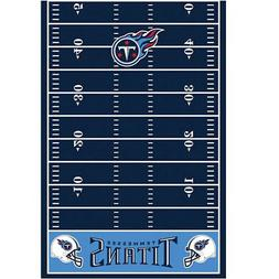 NFL TENNESSEE TITANS PLASTIC TABLE COVER ~Football Birthday