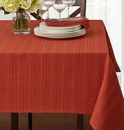 "Benson Mills Cameron Heavy Weight Fabric Tablecloth, 60"" x 1"
