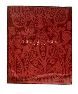 Ralph Lauren Thoroughbred Paisley Dressage Red Oval Tableclo