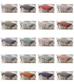 Ambesonne Tribal Design Tablecloth Table Cover for Dining Ro