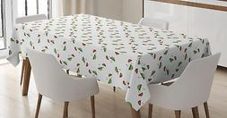 Umbrella Tablecloth Ambesonne 3 Sizes Rectangular Table Cove