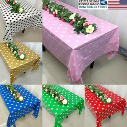USA Wedding Banquet Party Rectangle Table Cover Pattern Clea