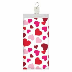 Valentines Day Hearts Table Cover Plastic 54 x 102 Tableclot