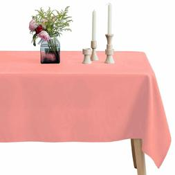 VEEYOO Rectangular Tablecloth 100% Polyester Oblong Table Cl