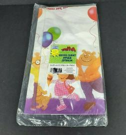 Vintage 1999 Arthur Paper Table Cover Birthday Table Cloth 5