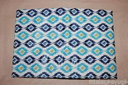 """Vinyl Tablecloth 52x70"""" RECTANGLE Flannel Back ABSTRACT DIAM"""