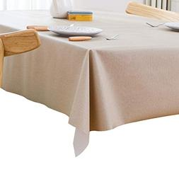 Do4U Vinyl Tablecloth Heavy Weight Rectangle Table Cover Wip