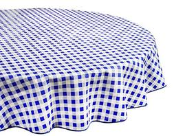 Vinyl Tablecloth Round Tablecloths Plastic Tablecloth Indoor