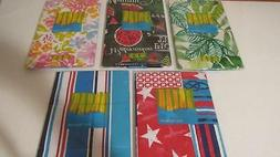 Vinyl Tablecloth Square 52x52 5 Styles 4th July Flowers Wate
