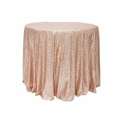 Waterproof Disposable Sequined Tablecloth Wedding Party Deco