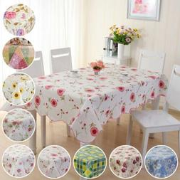 waterproof oil proof pvc table cloth cover