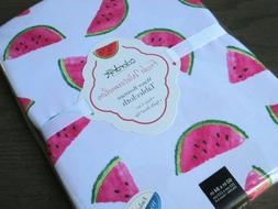 COLORDRIFT White w/Pink & Green Watermelons Polyester Tablec