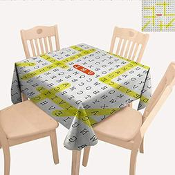 longbuyer Word Search Puzzle Picnic Cloth Unified Modeling L