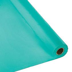 """40"""" X 100 Ft Plastic Heavy Duty Banquet Roll Teal"""